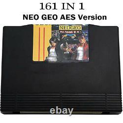 161 in 1 vidéo Jeu Cartouche JAMMA Multi Arcade pour SNK NEO GEO AES Console FR