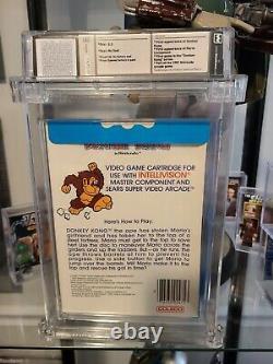 1982 Donkey Kong Coleco Intellivision Sealed Wata 8.0 Graded Video Game Mario
