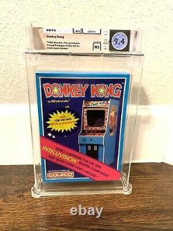 1982 Donkey Kong Coleco Intellivision Sealed Wata 9.4 Graded Video Game Mario