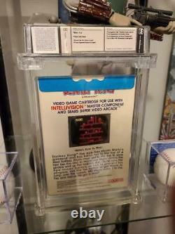 1982 Donkey Kong Coleco Intellivision Sealed Wata 9.6 Graded Video Game Mario