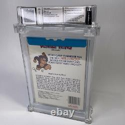 1982 Nintendo Donkey Kong Intellivision Sealed Wata 9.2 Graded Video Game Mario