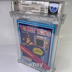 1982 Nintendo Donkey Kong Intellivision Sealed Wata 9.6 Graded Video Game Mario