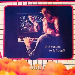 1983 80s vTg WarGames movie video arcade Atari game hacker code t-shirt iron-on