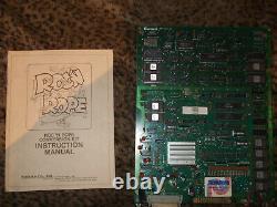 1983 KOSUKA KONAMI ROC`N ROPE VIDEO ARCADE GAME MPU/CPU LOGIC BOARD WithMANUAL
