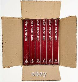 1988 Venture Atari 2600 Video Game Factory Case of (6) Sealed Games WATA Ready