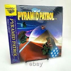 1993 TAITO Pyramid Patrol Video Game Pioneer LaserActive Mega Laserdisc RARE
