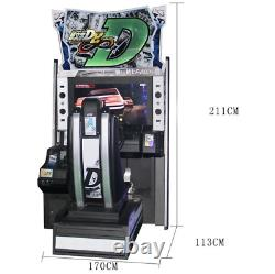 2-Player Initial D Stage 8 Arcade Game Street Racing Coin Operated SEE VIDEO