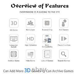 2650 Games Pandora Box 3D Double Sticks Retro Video Games Arcade Console Machine
