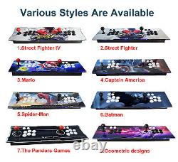 3160 Games Pandora's Box 9S Retro Video Game Arcade Console HDMI Double Sticks
