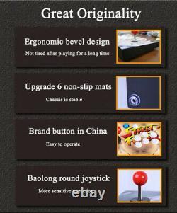3188 Family 3D Video Games Double Stick Arcade Console 8 Joystick Portable