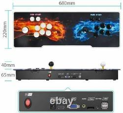 3399 Games Downloaded Pandora's Box 11s Retro 3D HD USB Video Arcade Console