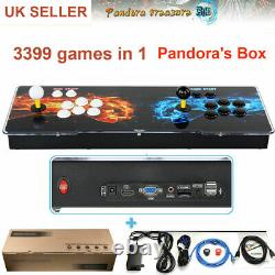 3399 Games Pandora Box 3D Double Sticks Retro Video Games Arcade Console Machine