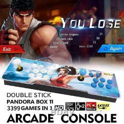 3399Games Pandora's Box 11S Retro Video Arcade Game Console for TV PS3 KOF HDMI