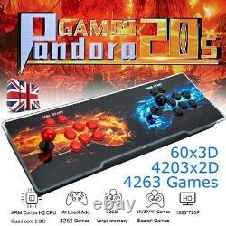 3D Pandora Box 20s 4263 In 1 Classic Arcade Console Retro Video Games UK Stock