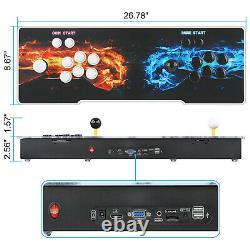 5000in1 3D WIFI Pandora's Box Key Video Games Arcade Consoles for Home TV HDMI
