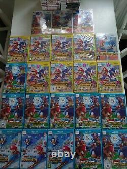 54x Mario & Sonic Video Games DS/3DS/WII/WII U Brand New & Sealed Joblot Bundle