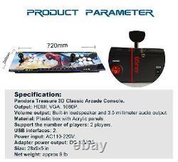 8000 Games Pandora Box 3D Retro Video Game Arcade Console HDMI 1080 Double Stick