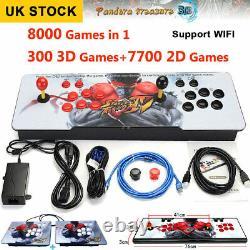 8000in1 3D Pandora's Box WIFI Key Video Games Arcade Consoles Home TV Adult HDMI