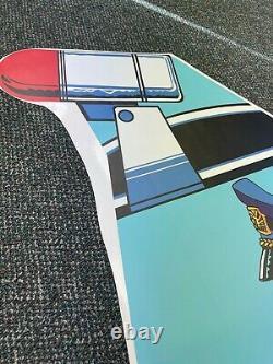 APB Side Art Arcade Video Game A. P. B. Atari Dedicated Cab