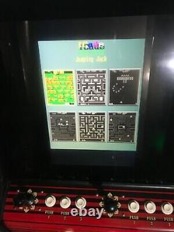 ARCADE VIDEO CABINET ORIGINAL CABINET 60 classic games