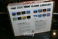 ATARI 7800 Vintage Electronic Arcade TV video game Computer Console system NEW
