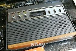 ATARI CX 2600 Vintage Electronic Arcade TV video game Console system IN BOX