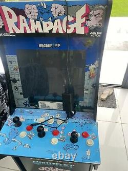 Arcade 1UP machine video game Rampage Defender Joust Gauntlet