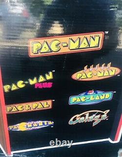 Arcade 1up PacMan 40th Anniversary Edition Video Game Galaga Console Brand New