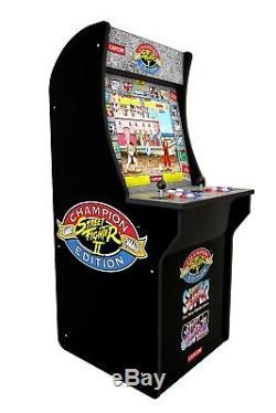 Arcade 1up Street Fighter 2 Arcade1UP Retro Cabinet Machine Video Game Cab