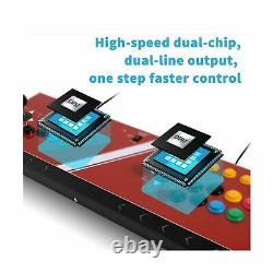 Arcade Joystick Machine 2 Players Video Game Compatible Neogeo Mini PC PS New