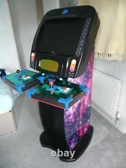 Arcade Machine Video Game Cabinet fitted with Pandoras Box XIV Saga