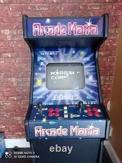 Arcade Mania video free play retro cabinet 156 games