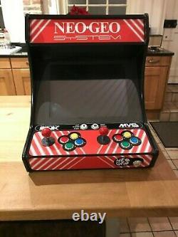 Arcade machine, 2 player, Neo-Geo MVS (Multi Video System), Jamma, 2200+ games
