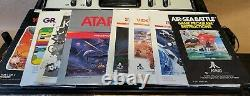 Atari 2600 Console Game Center Video Arcade + 37 Games Huge Bundle Lot -UNTESTED