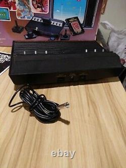 Atari 2600 Sears Tele-Games Video Arcade system console Original Box 13 Games
