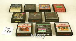 Atari 2600 Sears Video Arcade II 20 Game Bundle Tested and Working
