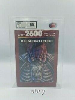 Atari 2600 Video Game XENOPHOBE Brand New & Sealed UKG GRADED 1990
