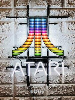 Atari Arcade Video Game Room Neon Sign 20 Light Lamp With HD Vivid Printing