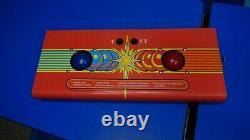 Atari MARBLE MADNESS Arcade Video Game Control Panel with Trackballs-good shape
