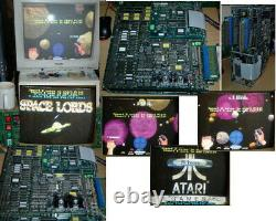 Atari SPACE LORDS video arcade game PCB board fully working JAMMA+
