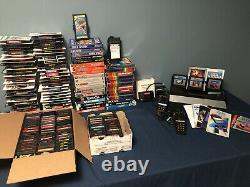 Atari Video Collection 161 2600 Games 32 Complete CIB 51 w manuals 5200 Console