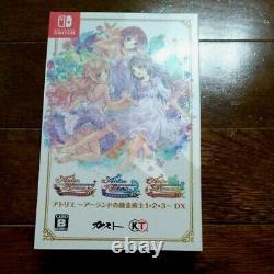 Atelier Alchemist Of Arland 1 2 3 DX Nintendo Switch Limited Design Video Game