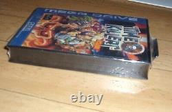 BRAND NEW FACTORY SEALED Time Killers Sega Megadrive UK PAL video game (1996)