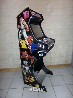 Borne Arcade Bartop + Socle Jeu vidéo Retro Gaming Neuf Garantie Personnalisable