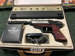 CBS Coleco Vision + Video Master Gun +10 Games Vintage Arcade Video Game