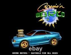 CRUIS'N WORLD CRUSIN JAMMA ARCADE VIDEO GAME PCB BOARD working tested