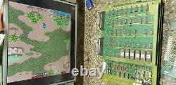 Capcom Commando Video Arcade Game PCB, Atlanta, Tested Good