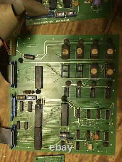 Centuri Challenger Arcade Video Game PCB JAMMA Complete Board Set Of 4