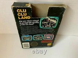 Clu Clu Land Nintendo NES Video Game 5 screw Matte sticker / see pictures