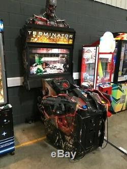 Coin Operated Terminator Salvation Shooting Arcade Video Game